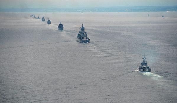 Съвместни руско-японски морски учения
