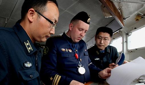 Русия и Китай стартираха военно-морските  учения в Средиземно море