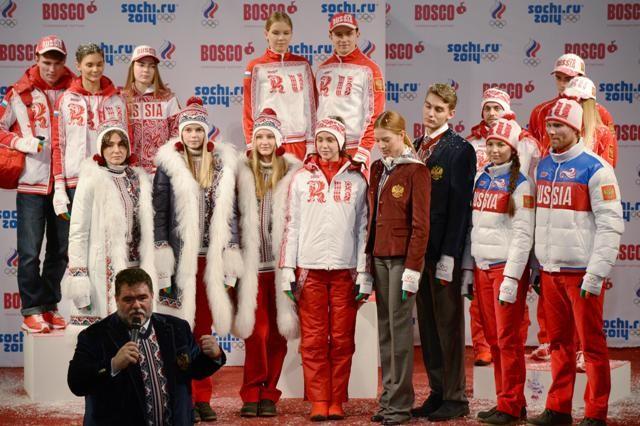 Обявен е състава на делегацията на Русия на XXII Олимпиада в Сочи.