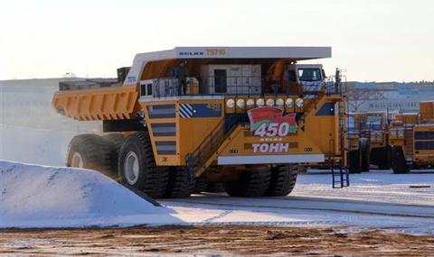 БелАЗ постави рекорд по товароносимост
