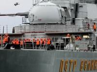 Взаимодействието на бойни кораби на Русия и Китай