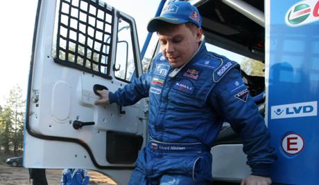 """В 12-ия етап на ралито """"Дакар 2014"""" Руснакът отстъпил първото място"""
