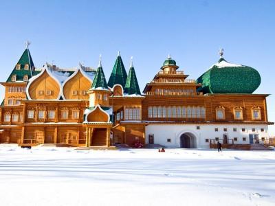 В Коломенское – приказният дворец на руския цар