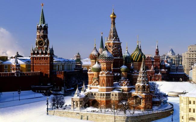 Москва през зимата