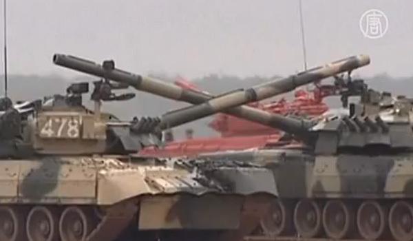 """Руски танкове ще """"изтанцуват"""" валс"""
