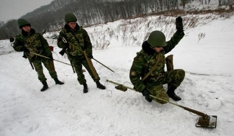 В Русия създават международна школа за сапьори