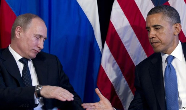 Путин и Обама обсъдиха по телефона мирната конференция за Сирия