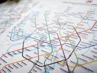 Стълб проби тунел в московското метро