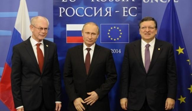 Путин пристигна на срещата на върха ЕС-Русия