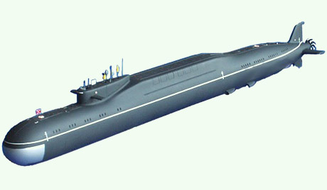 """В 2014 година Русия ще построи две подводници """"Борей"""""""