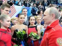 ruski figuristi i putin