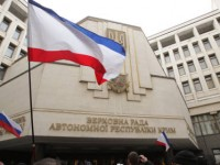 на РФ решението на парламента в Крим за приемане на Декларацията за независимост е напълно правомерно