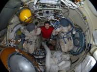 завръщане на космонавтите от орбита