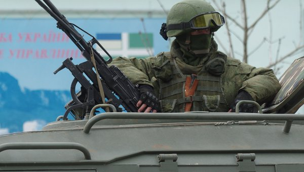 Украински военни преминаха на страната на властите на Крим
