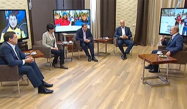 Владимир Путин очаква победи от руските параолимпийци