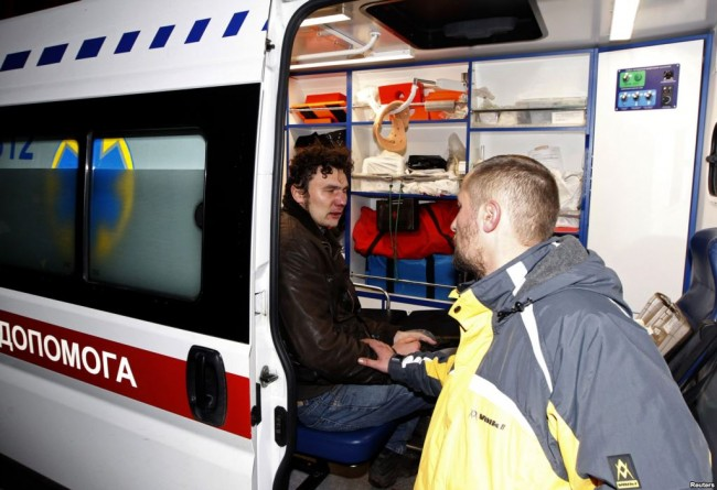 Почти 180 от  пострадалите в Киев са все още в болници