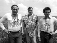 Brothers Kamo, Shavarsh and Anatoly Karapetyan