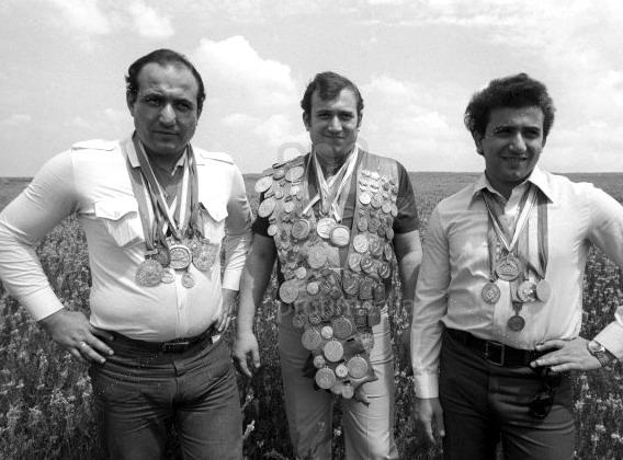Brothers Kamo, Shavarsh and Anatoly Karapetyan