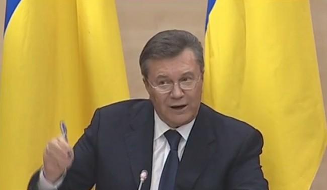 Путин: преди два дни Янукович беше жив