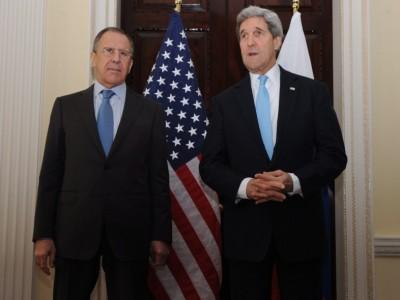 Преговорите между Лавров и Кери за ситуацията в Украйна започнаха