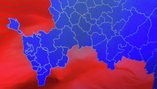 Крим се появи на картата на Русия