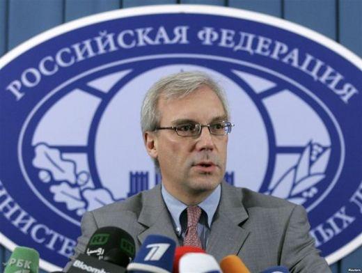 НАТО трябва да да уважи демократичния избор на кримския народ, заяви представителят на Русия пред Алианса