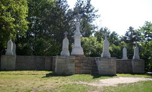 """Парк """"Паметниците"""" край Свищов, посветен на Руско-турската освободителна война"""