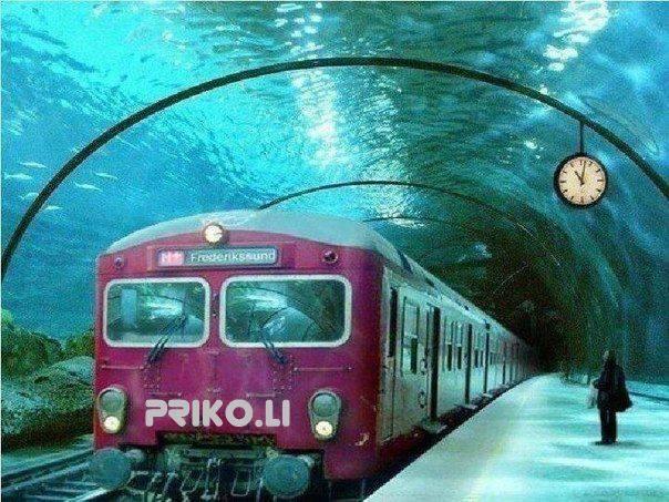 В Москва ще строят подводно метро