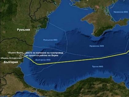 """Одобрена е руската оценка за въздействие върху околната среда (ОВОС) на морския газопровод """"Южен поток"""""""