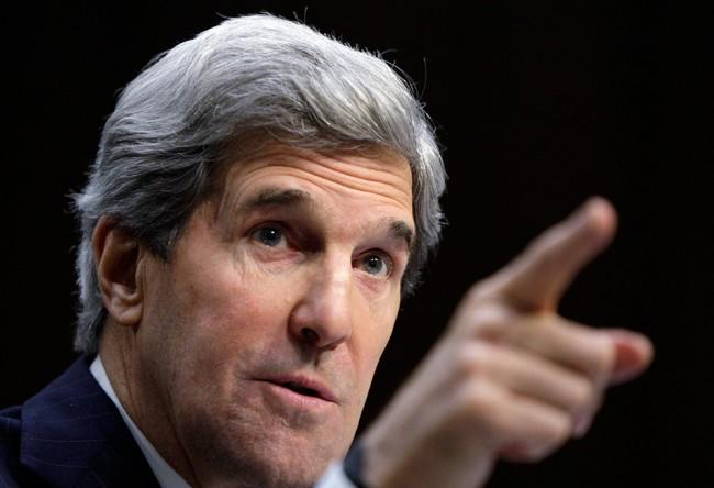Кери обвини Москва за ескалацията на напрежението в Украйна