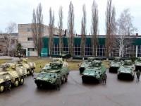 В Луганск пристигнаха БТРи