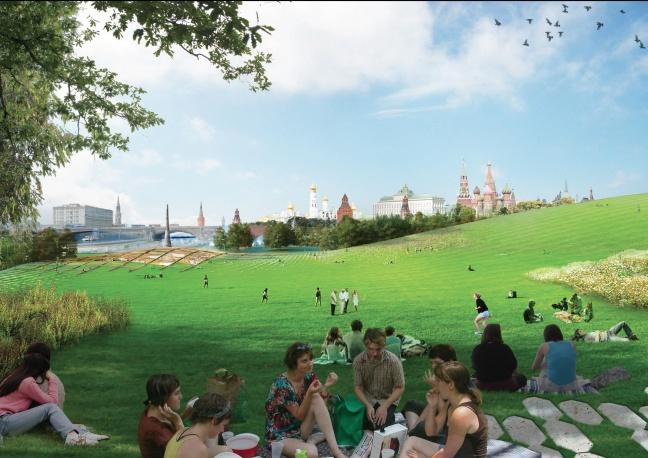 парковете в Москва