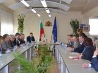 Руска делегация от общински съветници и кметове посети Казанлък
