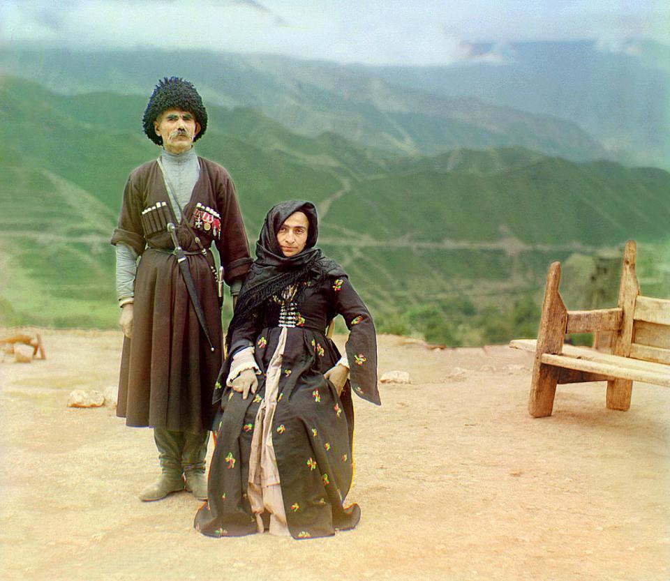 Дагестан костюми