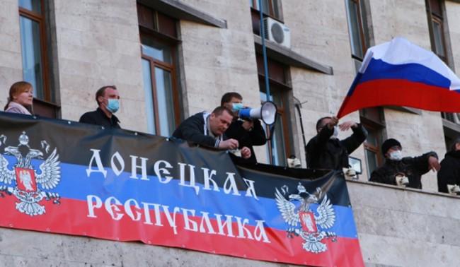 Самопровъзгласената Донецка република помолила Русия да въведе войски