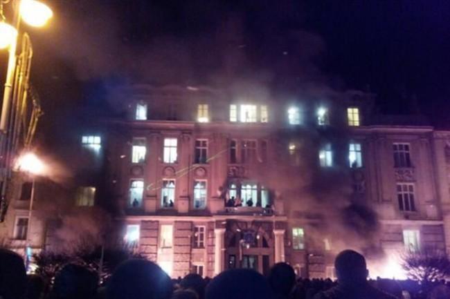 Прокуратурата в Лвов е превзета