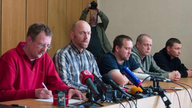 Славянск показа наблюдателите на ОССЕ