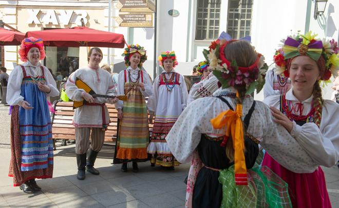 Великденски чествания в Москва4