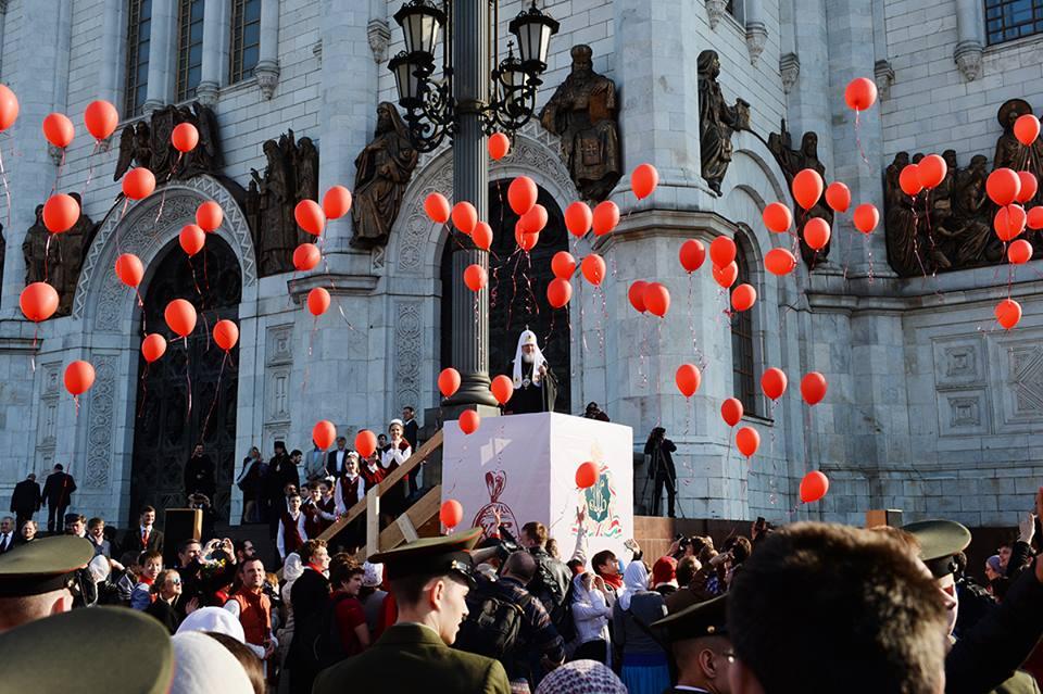 Великденски чествания в Москва7