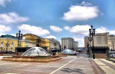 Историческите площади в Москва