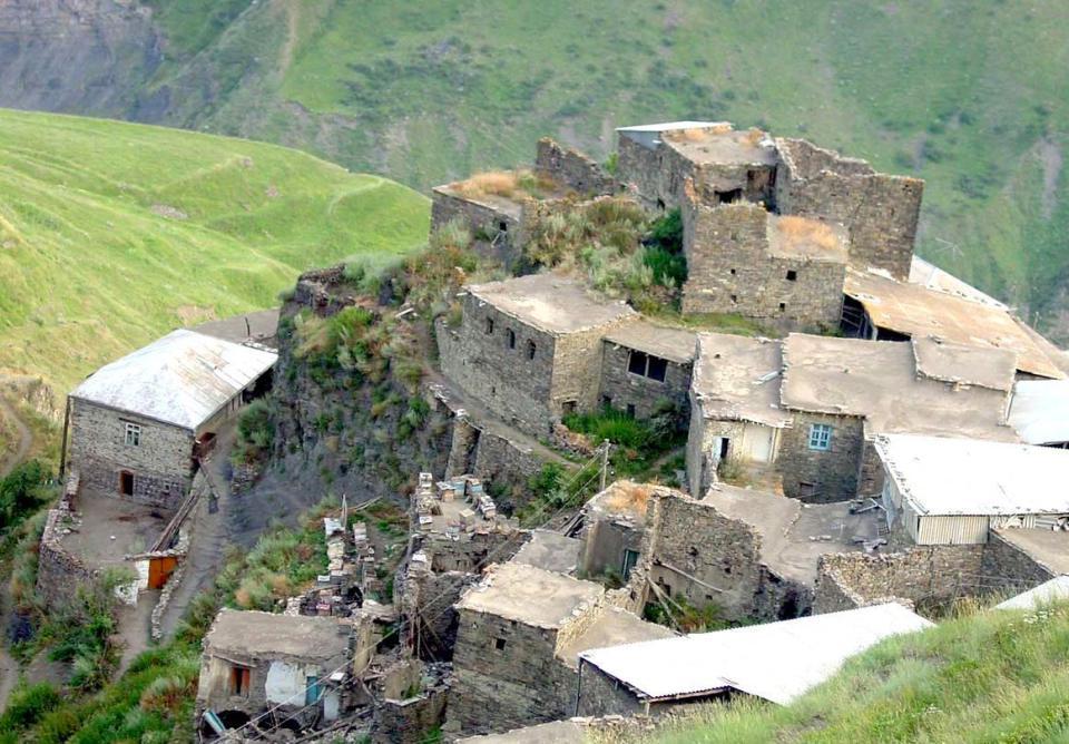 Планинско селище в Дагестан