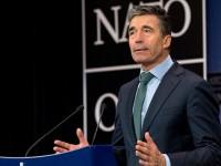 Расмусен: НАТО предприема военни мерки в отговор на кризата в Украйна