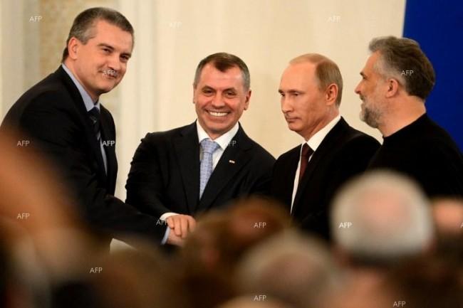 Депутатите от законодателното събрание на Севастопол приеха новия устав на града