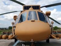Военно-транспортный вертолет Ми-171Ш на Международном авиационно-космическом салоне МАКС-2005