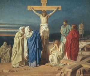 350px-Evgraf_Semenovich_Sorokin_-_Crucifixion