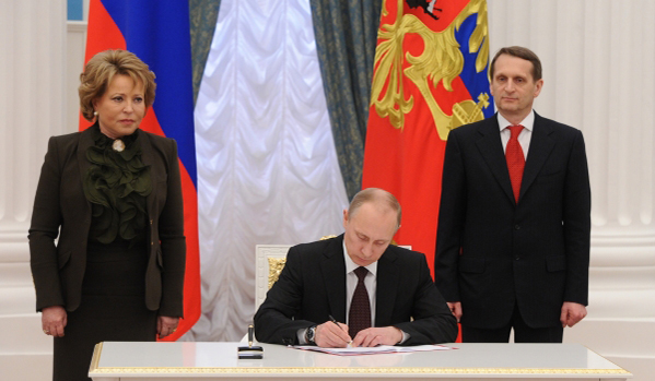Путин подписа закон за денонсация на споразуменията по Черноморския флот