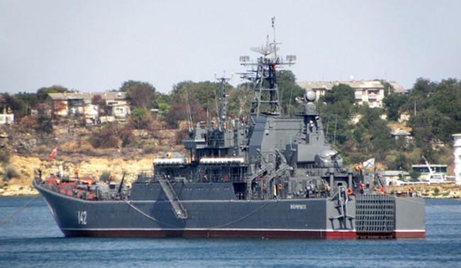 Три дестантни кораба се присъединиха към средиземноморската групировка на руския флот