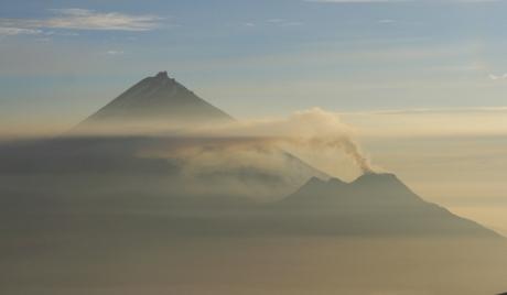 """Неспокойният вулкан """"Безименни"""""""