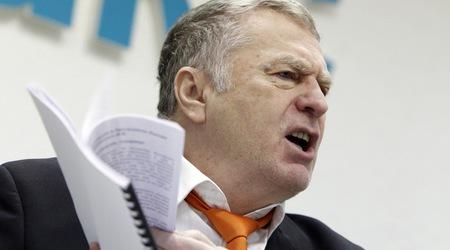 Руски журналисти ще съдят Владимир Жириновски