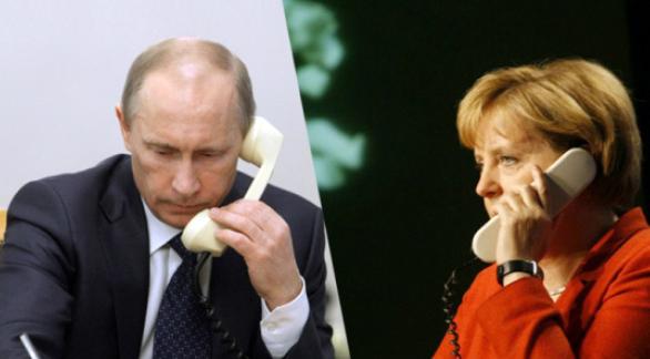 Путин и Меркел се надяват срещата в Женева да нормализира ситуацията в Украйна
